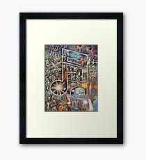 """Sonic Aftermath"" Framed Print"