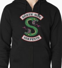 Riverdale - South Side Serpents Zipped Hoodie