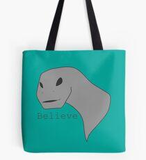 Alien Dino Tote Bag