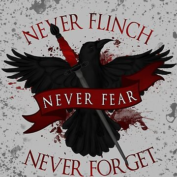 'Never Flinch, Never Fear, Never Forget' | Nevernight by CuteCrazies