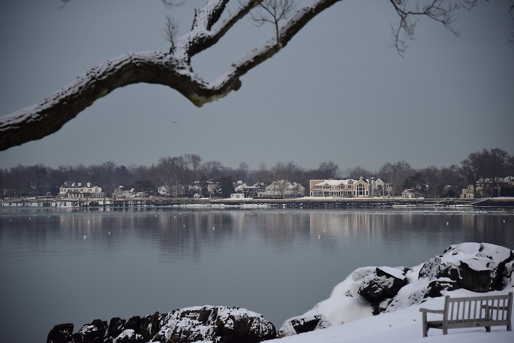 Mirrors and Mirages on Long Island Sound by Gilad