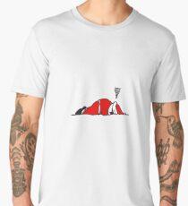 Sleeping Santa Men's Premium T-Shirt