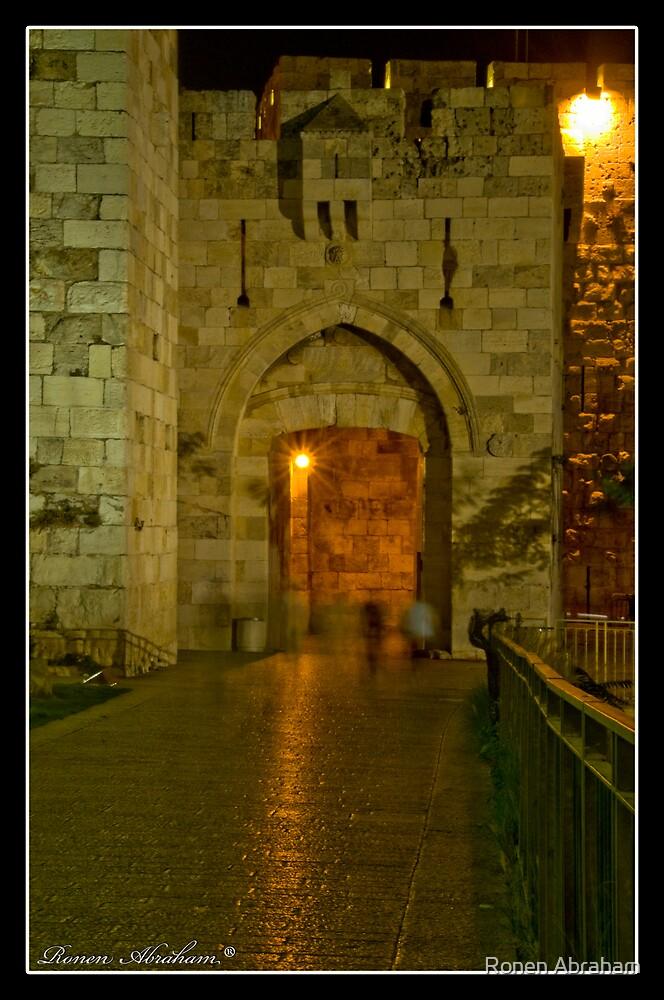 Jaffa Gate by Ronen Abraham