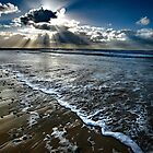 November Rays - Freshwater West , Pembrokeshire by Mark Haynes Photography