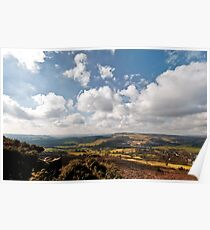 From Baslow Edge Poster