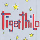 2506 - Tigerthilo Design Red Blue Star Style by tigerthilo