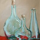 Three Bottles by Carole Russell