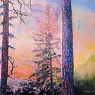Two Pines by Sue Wellington