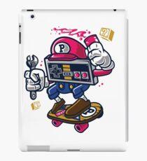 Skateboard Plumber Parody Cartoon Lookalike iPad Case/Skin