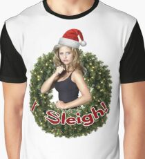 A Very Buffy Christmas Graphic T-Shirt