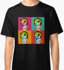 David Bowie - Andy Warhol Classic T-Shirt
