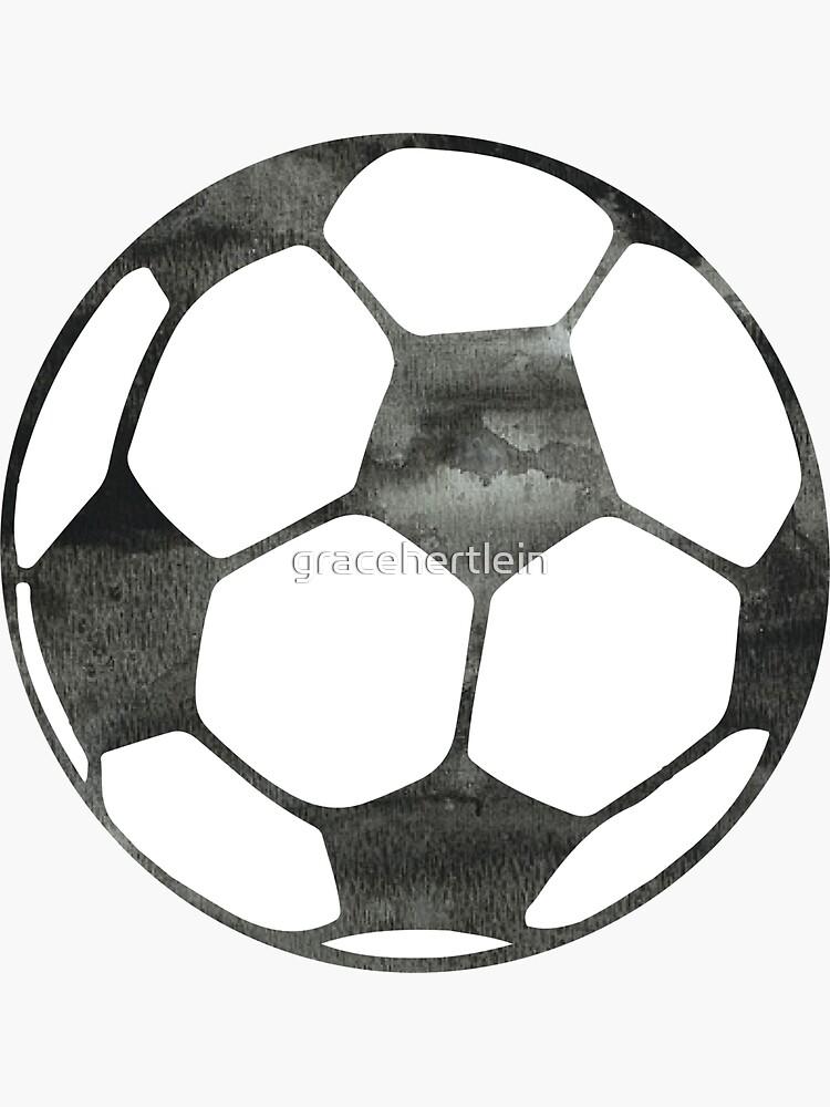 Balón de fútbol de gracehertlein