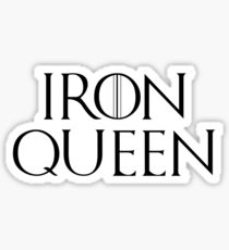 Iron Queen Sticker