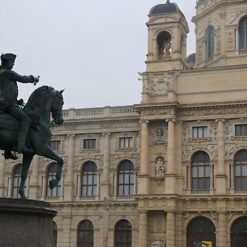 Austria Austria Vienna Vienna Maria-Theresia Monument Monument Rider Cavalier Horses Natural History Museum of Natural History by eickys