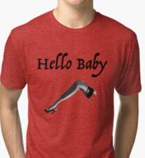 Hello Baby Tri-blend T-Shirt