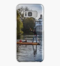 Punt on the River Cam Samsung Galaxy Case/Skin