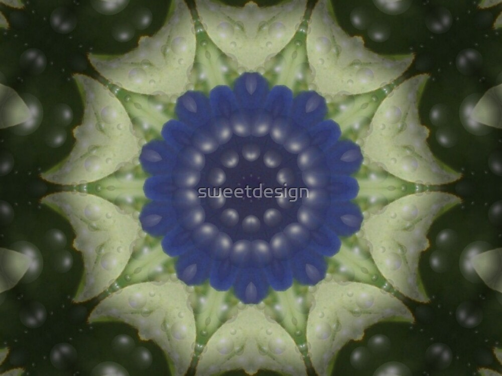 Blue done funky by sweetdesign