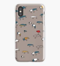 Brown lures iPhone Case/Skin