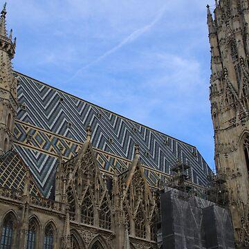 Austria Austria Vienna Vienna Stephansdom Steffl Dome Cathedral by eickys