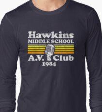Hawkins Middle School A.V. Club Long Sleeve T-Shirt