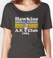 Hawkins Middle School A.V. Club Women's Relaxed Fit T-Shirt