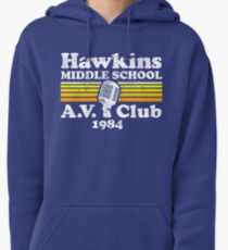 Hawkins Middle School A.V. Club Pullover Hoodie