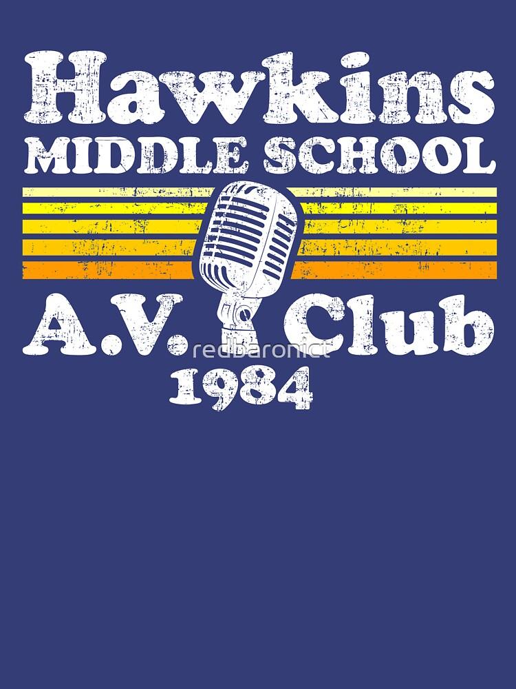 Hawkins Middle School A.V. Club by redbaronict