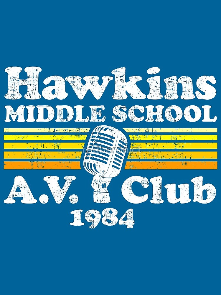 Hawkins Middle School A.V. Club by redbaronict