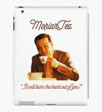 """MoriarTea: """"It will burn the heart out of you!"""" iPad Case/Skin"""