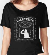 Valkyrie's Liquor - Bottled At Korg's Women's Relaxed Fit T-Shirt