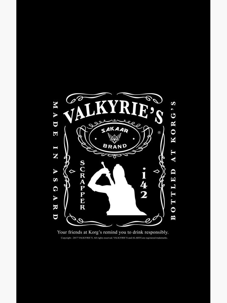 Valkyrie's Liquor - Embotellado en Korg's de alarts