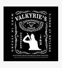 Valkyrie's Liquor - Bottled At Korg's Photographic Print