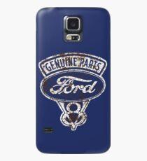 Öl beflecktes Ford-Zeichen Hülle & Klebefolie für Samsung Galaxy