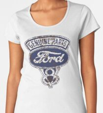 Oil Stained Ford Sign Women's Premium T-Shirt