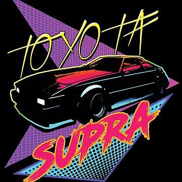 80s Toyota Supra by tanyarose