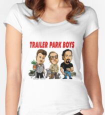 TRAILER PARK BOYS Women's Fitted Scoop T-Shirt