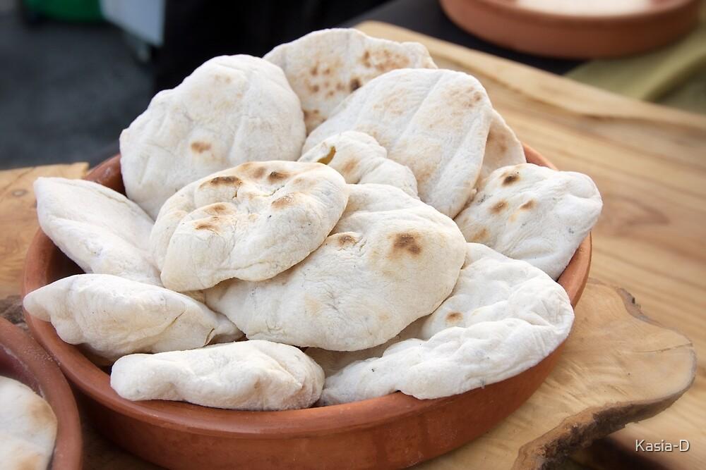 Fresh Pita Bread by Kasia-D