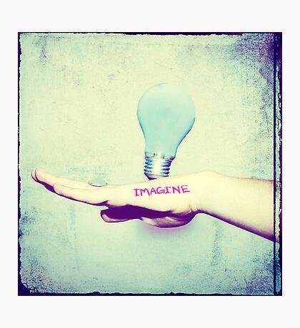 Imagine Creativity Photographic Print