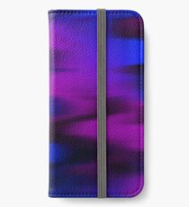 Keep It Wavy (purple, blue, black) iPhone Wallet/Case/Skin