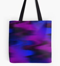 Keep It Wavy (purple, blue, black) Tote Bag