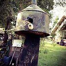 Can Birdhouse by Barbara Wyeth