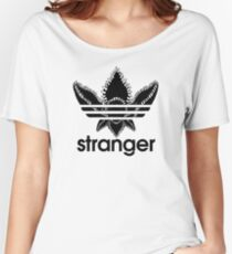 Stranger Things - Adidas logo Women's Relaxed Fit T-Shirt