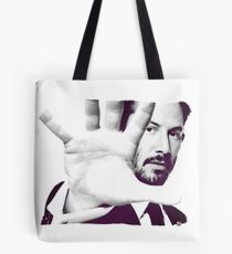 Keanu Reeves (Black and White Silent Attitude) Tote Bag