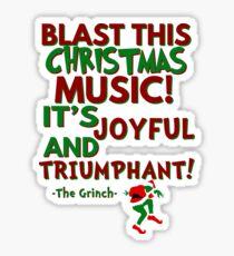 The Grinch - Triumphant Sticker