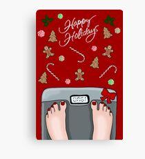 Hilarious holidays  Canvas Print