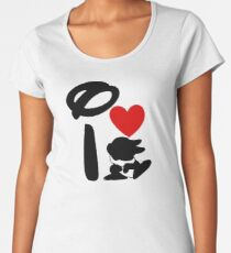 I Heart Thumper Women's Premium T-Shirt