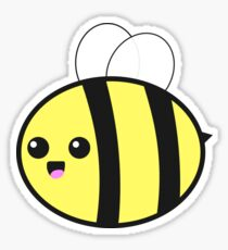 Smiling Bumble Bee Sticker