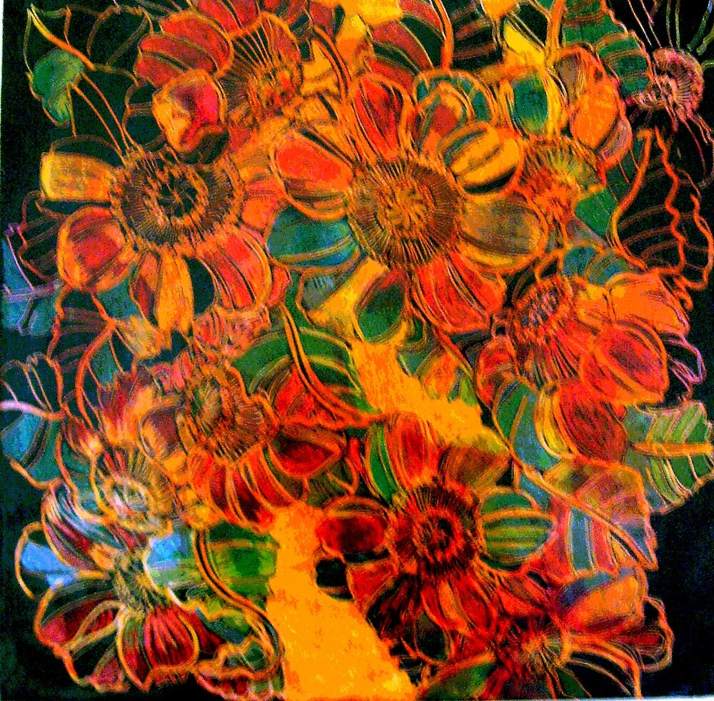 FLORAL SUMMER by Linda Arthurs