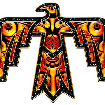 Thunderbird, American Indians, Totem, Spirit, Bird, Eagle, Raven by nitty-gritty
