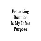 Protecting Bunnies Is My Life's Purpose by supernova23